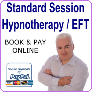standard hypnotherapy session